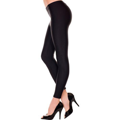 Image of Basic Lange Legging - Zwart