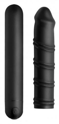 Image of Bang! Swirl XL Bullet Met Afneembare Sleeve